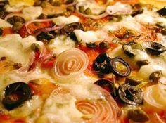 Pizza- a verdadeira massa Italiana de pizza - Veja mais em: http://www.cybercook.com.br/receita-de-pizza-a-verdadeira-massa-italiana-de-pizza.html?codigo=16724