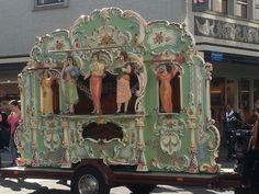Dutch street organ Rotterdam