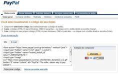 Botões Doação PayPal no Blogger