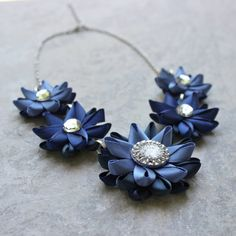 Hey, I found this really awesome Etsy listing at https://www.etsy.com/listing/193447040/blue-necklace-navy-blue-necklace-navy
