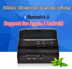 79.99$  Buy now - http://alic28.worldwells.pw/go.php?t=32597541760 - ZJ-8001 portable Bluetooth wireless thermal printer support for print width 80mm Andrews 79.99$
