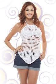 blusa de croche facil de fazer - Pesquisa Google