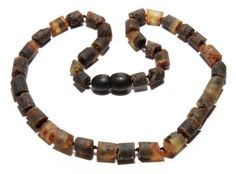 Unique Genuine Raw Baltic Amber Necklace for Little by BLTAmber, $12.99