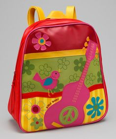 $14.99 Take a look at this Girls Rock Go Go Backpack by Stephen Joseph on #zulily today!