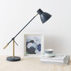 Victor Table Lamp White