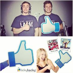 Express your 'liking' of everything, everywhere you can go with our Like Foam Hand. Available @Courtney Perris #Jordan #Unique #Gifts  #SocialMedia #Social #Gift #Facebook #Like #MENA #UAE #GCC #KSA