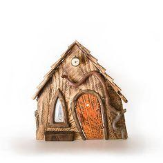 Sudhaven Yellow Doors, Fairy Houses, Bookends, Door Handles, Clock, Shapes, Bird, Outdoor Decor, Home Decor