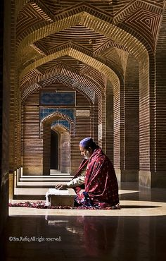Shahjahan mosque thatta-sindh. Pakistan