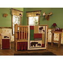 Northwoods 6-Piece Crib Bedding Set Nana would definitely buy this one :)