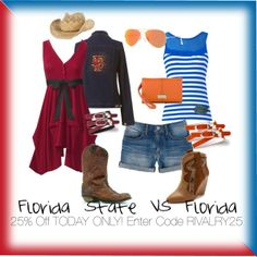 Florida State vs. Florida | RIVALRY DAY | 25% off Site Wide | RIVALRY25