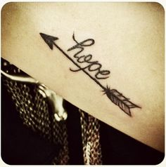 word tattoo ideas.. but without the word