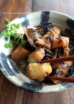 Hijiki Potato Stew  ひじきじゃが