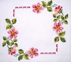*flowers --- cross-stitch*
