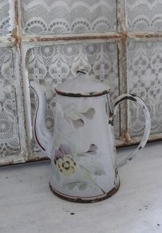 pretty coffee pot