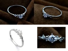 Beautiful Promise ring… I have one just like this but its fake lol