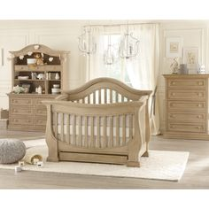 Baby Appleseed Davenport 3 In 1 Convertible Crib Collection