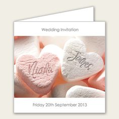 Wedding Invitations - Add Your Names, Pink Wedding Sweets - Open Out Pink Sweets, Stationery Craft, Wedding Sweets, Wedding Invitations, Invites, Jasmine, Crafts, Names, Google Search