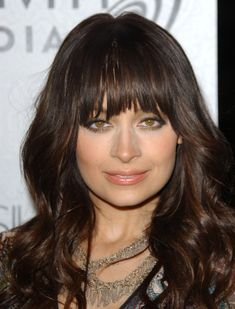 mahogany brown hair color  | Nicole Richie Latest Hairstyle Color is a Beautiful Mahogany Brown