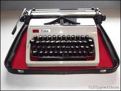 Vintage Erika Daro typewriter  big & classy by OldTypewriters