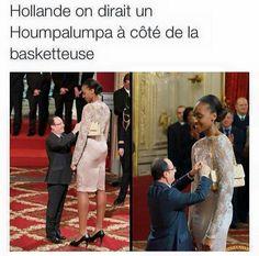 Hollande on dirait un Humpalumpa