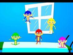 Pre Primary Japanese:YouTube-5 little monkeys