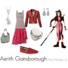 Aerith Gainsborough, created by tuffchica  Final Fantasy VII