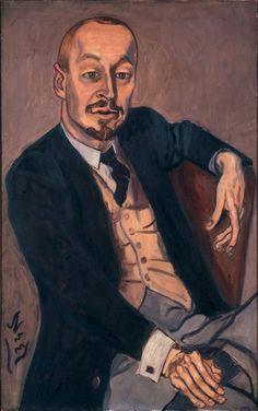 Alice Neel, The Baron, 1959, oil on canvas, 86.4 x 54 cm.