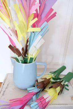 Kunterbunte Blumen für Karneval