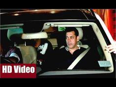 Salman Khan at sister Arpita Khan's husband Aayush Sharma's Birthday Party 2016.  #salmankhan #arpitakhan #aayushsharma #birthdayparty #bollywood #bollywoodnews #bollywoodgossips #news #gossips #bollywoodnewsvilla