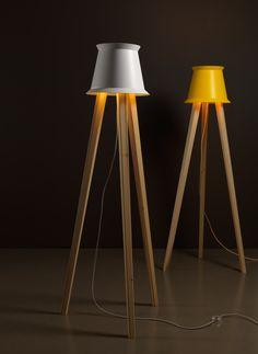 BUCKET-casa1796 Tripod Lamp, Interior Decorating, Lighting, Bucket, Furniture, Home Decor, Decoration Home, Room Decor, Lights