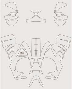 Iron man 4 costume helmet diy cardboard with template horizon deadpool semi rigid costume mask diy pdf template maxwellsz
