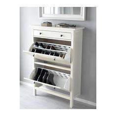 HEMNES Schoenenkast 2 vakken - wit - IKEA