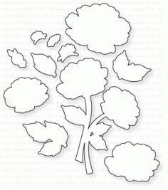 19.00  Papertrey Ink - Vintage Linens Die   ***GOES WITH VINTAGE LINENS STAMPS***