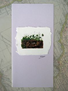 Hand made greetings card by modestly on Etsy, £3.00
