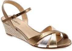 Trotters Mickey Wedge Sandals
