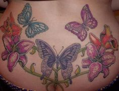 Image detail for -Tattoos Ideas Box » butterfly and flower designs