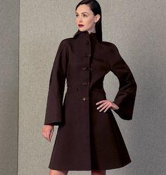 Vogue Naaipatroon 1419-A5 - Jas - Jack - Mantel - Dames - Patronen