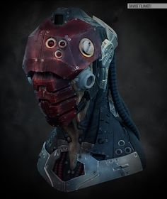 Techno Kabal  by Francesco Davide Filianoti, via Behance