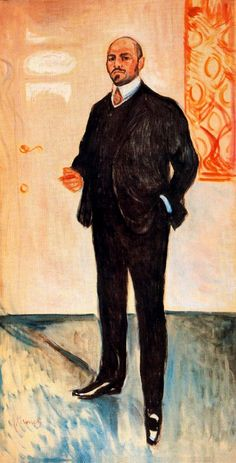 Walter Rathenau, 1907  Edvard Munch