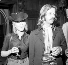July 3, 1969 - Ringo & Maureen cut short their French Riviera holiday to stand in for John & Yoko at the press reception for the release of Give Peace A Chance at the Chelsea Town Hall in London.
