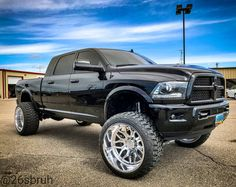Image may contain: car, sky and outdoor Dodge Ram 2500 Cummins, Lifted Cummins, Dodge Ram Diesel, Lifted Dodge, Ram Trucks, Dodge Trucks, Lifted Trucks, Suv Cars, Monster Trucks