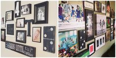 gallery wall and home decor inspiration with our vintage style hand painted dominoes #barnowlprimitives