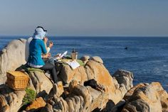 """Although Hermanus is known as the """"Best Land Based Whale Watching"""" in the world, Gansbaai can quite often offer closer encounters in a more dramatic setting. Beach Activities, Sand And Water, Close Encounters, Great White Shark, Fishing Villages, Whale Watching, Travel News, Africa Travel, Marine Life"""