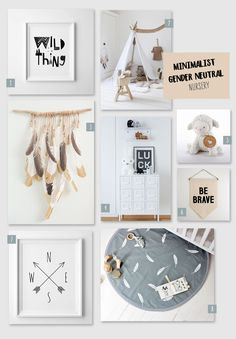 Love decor that's super trendy and brings your baby into a fashionable space? A minimalist gender neutral nursery is the perfect look.