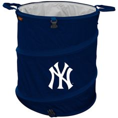 New York Yankees MLB Collapsible Trash Can