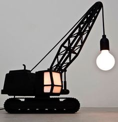 clever boys lamp