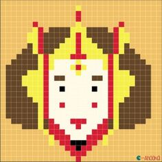 Princess Amidala - Star Wars free chart by ahooka