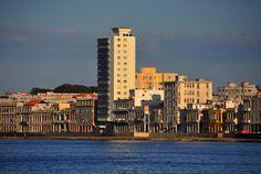 Malecón de la Habana al atardecer. Olivier Simard