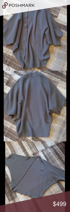 """The Row draped cashmere cardigan Nice and cozy draped cashmere cardigan by The Row in size:M  measurements: Armpit to armpit:36""""; Length across sleeves to sleeves:48""""; Length  from top to bottom :34"""" The real color it's just like the last picture. The Row Sweaters Cardigans"""