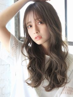 Beautiful Asian Girls, Her Style, Stylists, Long Hair Styles, Beauty, Long Hairstyle, Long Haircuts, Long Hair Cuts, Beauty Illustration